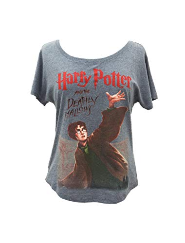 Out of Print Harry Potter and The Deathly Hallows Dolman Shirt XXX-Large]()