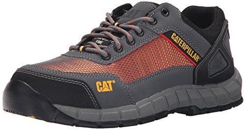 Caterpillar Men's Shift Comp Toe Work Oxford Steel Toe, Dark Shadow, 7 M US