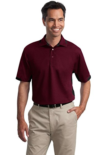 Port Authority Dry Zone Colorblock Ottoman Polo. K524 [Apparel]