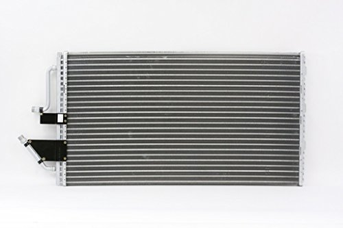 A-C Condenser - Pacific Best Inc For/Fit 4295 90-93 Chevrolet GMC Pickup 92-93 Blazer/Jimmy/Tahoe/Yukon/Suburban With 2 Male Plugs Parallel ()