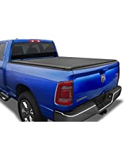 Tyger Auto T1 Roll Up Truck Tonneau Cover TG-BC1D9046 Works with 2019 1500 New Body Style | Without Ram Box | Fleetside 5.7' Bed
