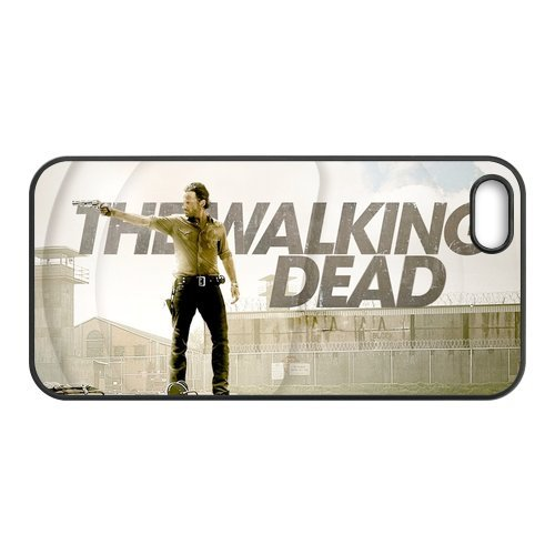 DIY-Style Individualized Cases Cover for iPhone 5 (TPU) Films The Walking Dead DIY-Style-4257