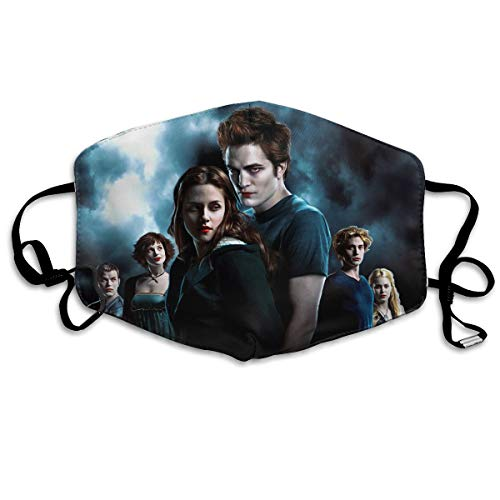 ace Mask, The Twilight Saga Breathable Mouth Cover Masks for Women Men ()