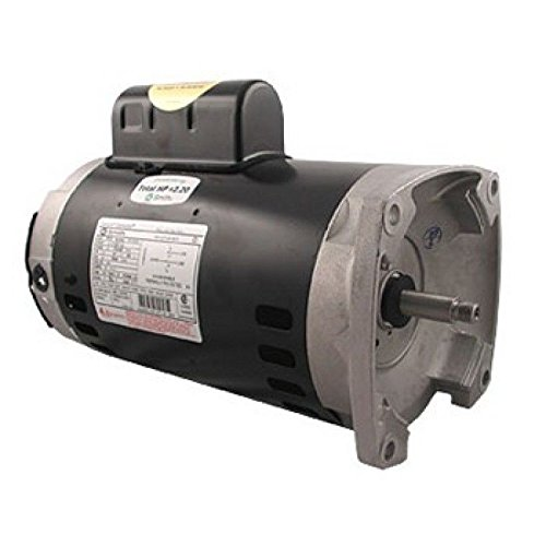 Speed Flange Square 2 Motor - A.O. Smith 2-Speed 56Y Frame 2HP 230V Square Flange Pump Motor B2984