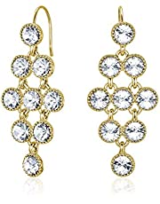 Mestige Larisa Women's Drop & Dangle Earrings with Swarovski Crystals - MSER3426