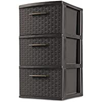 Sterilite 3-Drawer Medium Weave Tower