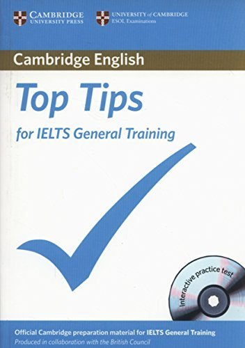09 Training Top - Top Tips for IELTS General Training Paperback with CD-ROM by Cambridge ESOL (2012-09-28)