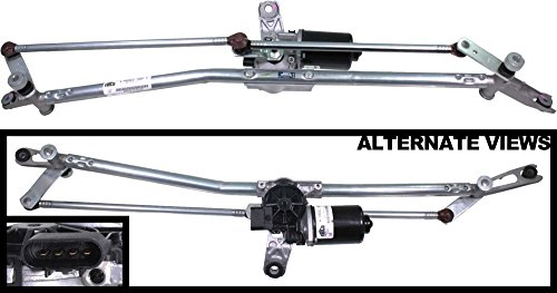APDTY 103926 Windshield Wiper Motor And Linkage Transmission Complete Assembly For 2002-2004 Dodge Ram 1500 2500 3500 Pickup