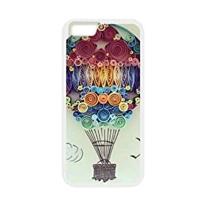 """Flying balloons Custom Cover Case for iPhone6 4.7"""", Custom Flying balloons Cell Phone Case"""