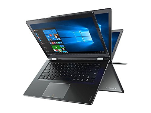 Lenovo Flex 4 Premium 2-in-1 Convertible 14″ FHD IPS Touchscreen Laptop – Intel Dual-Core i7-7500U Up to 3.5GHz, 16GB DDR4, 512GB SSD, AMD Radeon R5 M430, Bluetooth, Webcam, HDMI, Windows 10