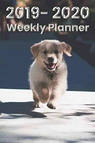 Labrador Retriever 6x9 2019-2020 Weekly Planner #8:, used for sale  Delivered anywhere in USA