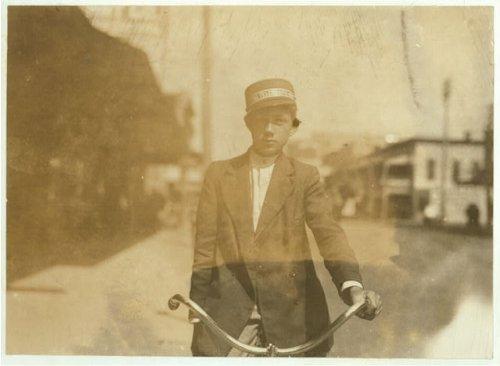HistoricalFindings Photo: Ben Key,Messenger Boy,Tampa,Florida,Child Labor,Lewis Wickes Hine,March 1911