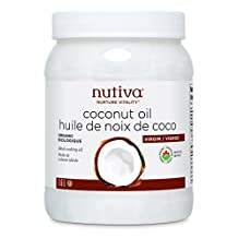 Nutiva Organic Organic Virgin Coconut Oil, 54-ounce/1.6L