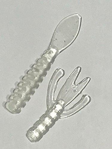 PLASTIX Plastisol Fishing Lure Making Plastic Rubber - 1000 CRYSTAL CLEAR