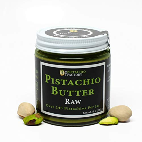 Pistachio Butter - Raw Unsalted (Paste Peanut Butter)