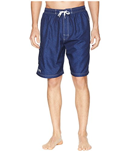 - TYR Men's Tahoe Challenger Swim Shorts Navy Large