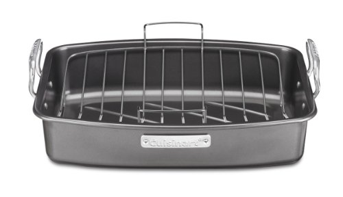 Cuisinart ASR-1713V Ovenware Classic Collection 17-by-13-Inch Roaster with Removable Rack