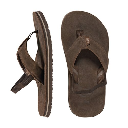 (Reef Classic Flip Flop (Toddler/Little Kid/Big Kid),Brown,4/5 M US Big Kid)