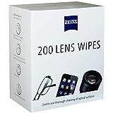 Lens Wipes com 200 Lenços Umedecidos Carl Zeiss