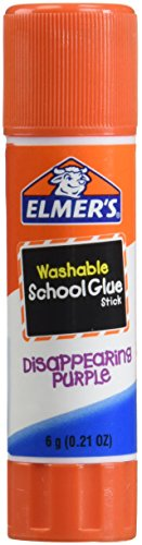 Elmers Stick Glue (Elmer's Disappearing Purple School Glue Sticks, 0.21 Ounce Each, Pack Of 4)