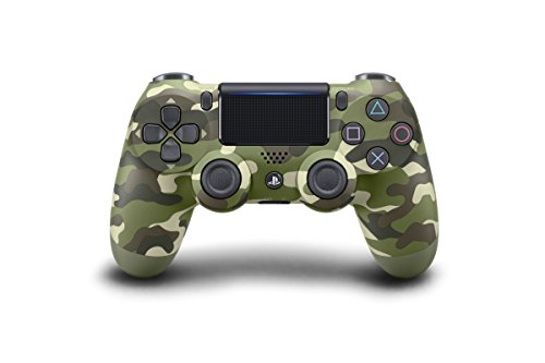 DualShock 4 Wireless Controller - Green Camouflage (Large Image)