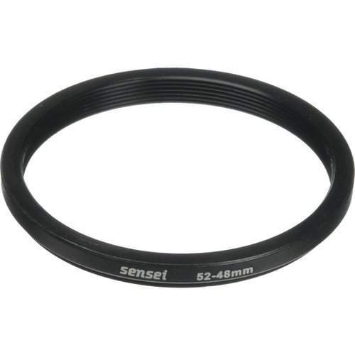 Sensei 52mm Lens to 48mm Filter Step-Down Ring(6 Pack) by Unknown