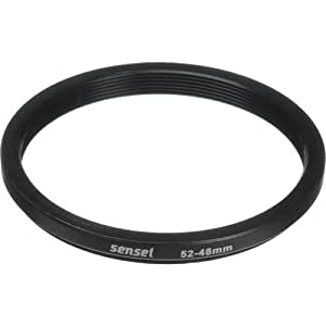 Sensei 52mm Lens to 48mm Filter Step-Down Ring