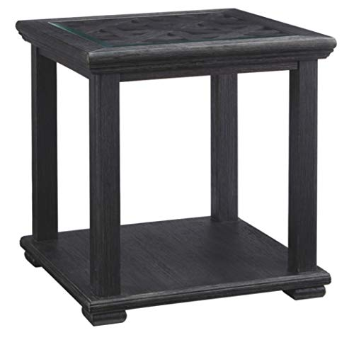 Dresser Cherry Natural Classic (Ashley Furniture Signature Design - Tyler Creek Casual Square End Table - Black)