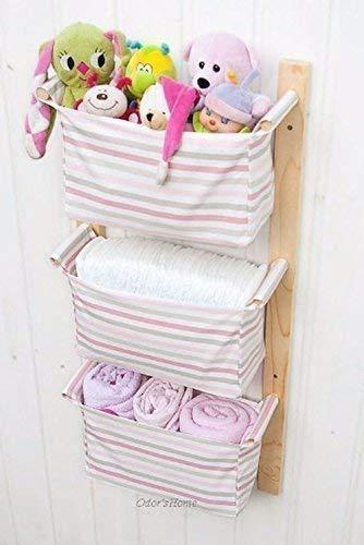 Amazon.com: Nursery Storage Baskets - Kids Room Storage ...