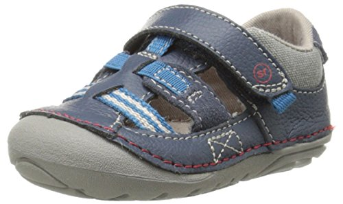 Stride Rite Soft Motion Antonio Sandal (Infant/Toddler),Navy,5 M US Toddler