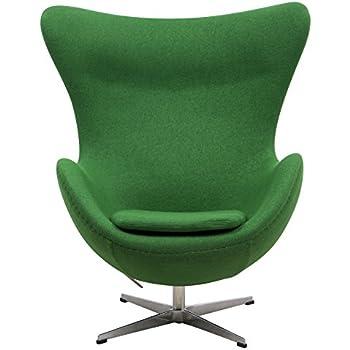 arne jacobsen furniture. leisuremod arne jacobsen egg chair in green wool furniture