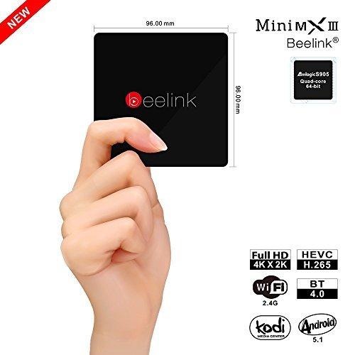 Picture of a Beelink MINI MX3 II 4K