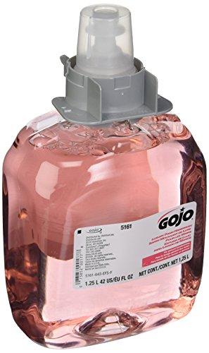 GOJO Industries 315-5161-03 Luxury Foam Handwash, FMX 1250mL Refill (Pack of 3)