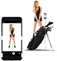 SelfieGOLF Record Golf Swing - Cell Phone Holder Golf Analyzer Accessories | Winner of The PGA Best Product | Selfie Putting