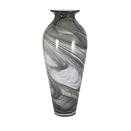 Amazon Imax 47690 Marbleized Oversized Glass Vase Home Kitchen
