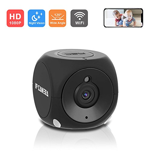 Spy Car Video (1080P WiFi Mini Hidden Spy Camera - EKLOV HD Wireless Car Dash Cam with HD Night Vision/Motion Detection/Remote Playback/Loop Record/Android & iOS APP/Support 64 GB Micro SD Card)