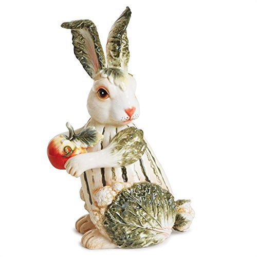 Fitz and Floyd Vista Bella Collection, Petite Rabbit Figurine (Floyd Giftware)