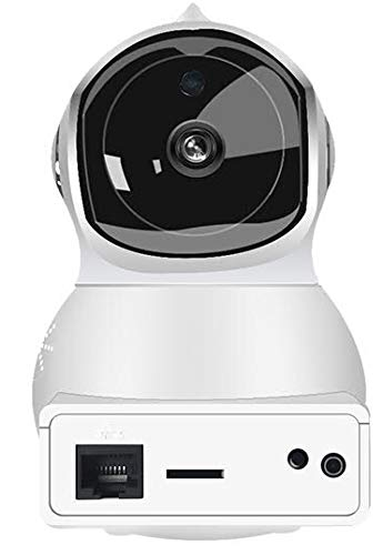 1080P WiFi Indoor Security Smart Camera, (Alexa Echo Show/Amazon Fire TV), Infrared 2.0MP, Wireless Pan/Tilt Home Security, Auto Tracking, Baby Monitor, Two-Way Audio, 2MP, Cloud Storage