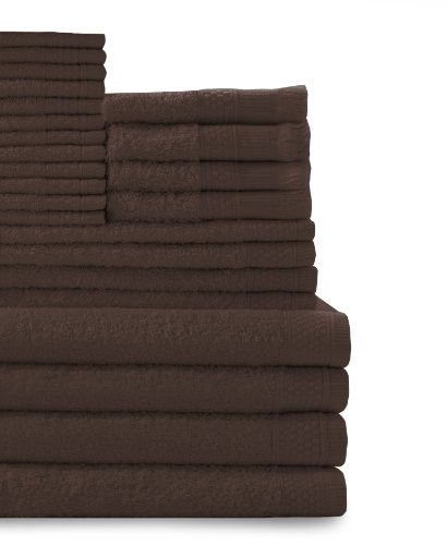 Baltic Linen Company Multi Count 100-Percent Cotton Complete 24-Piece Towel Set, - Complete Sets Bath