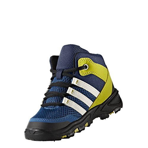 adidas AX2 MID I - Botas de treckingpara niños, Azul - (AZUMIS/BLATIZ/AZUBAS), 22