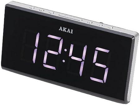 AKAI AC 136KS Gaïa Radio réveil: : High tech