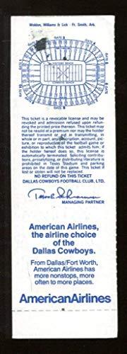1984 Dallas Cowboys v Washington Redskins Full Ticket 12/9 Texas Stadium 44793