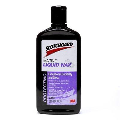 3M Scotchgard Marine Liquid Wax, 500 Ml ()
