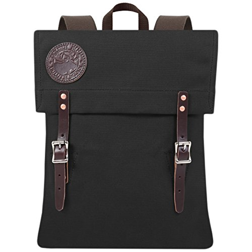 Duluth Pack Scout Deluxe Pack (Black) by Duluth Pack