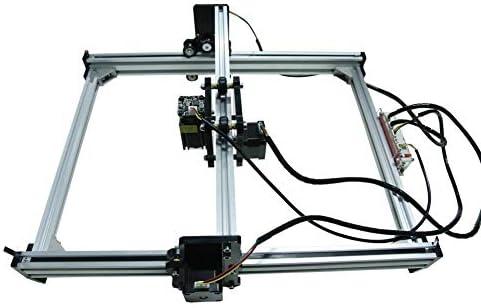 Enchufe de la UE grabador l/áser M/áquina de grabado 100-240VAC DIY M/áquina de corte de grabado l/áser de escritorio M/áquina de corte Grabadora Impresora