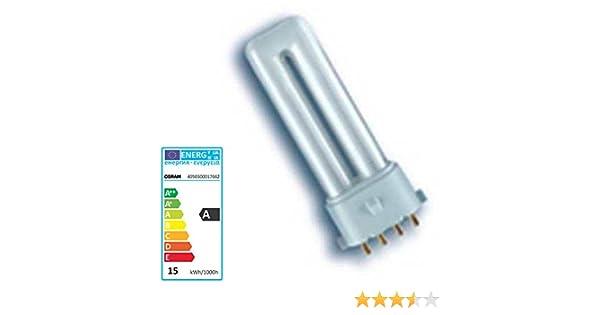 Osram 11 W Dulux S/E 2 G7 4 pin lámpara extra luz blanca cálida ...