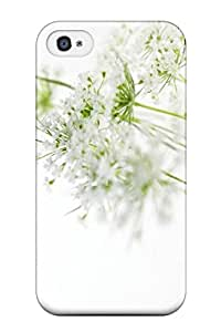 [fCXcKZD3040DZHwu] - New S White Flowers X Pixels Tagged Flower Protective Iphone 4/4s Classic Hardshell Case