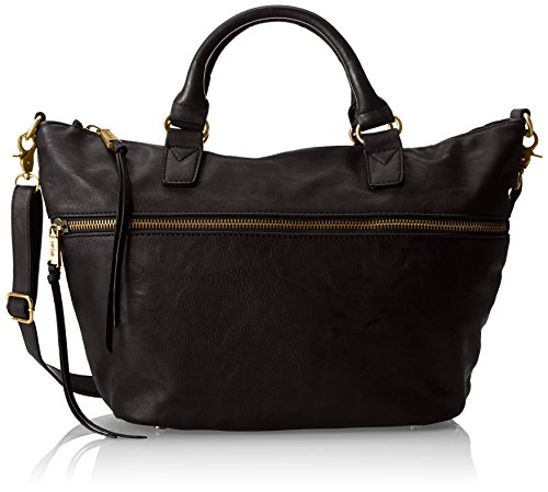 Co-Lab by Christopher Kon She-she Top Handle Bag,Black,One Size