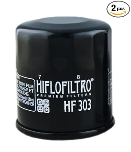 Amazon.com: Filtro de aceite Hiflofiltro HF112 Premium ...