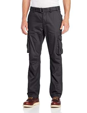 Company 81 Men's Twill Cargo Pants,Charcoal Heather,30x30